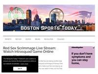 Boston Sports Today