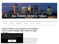 Baltimore Sports Today